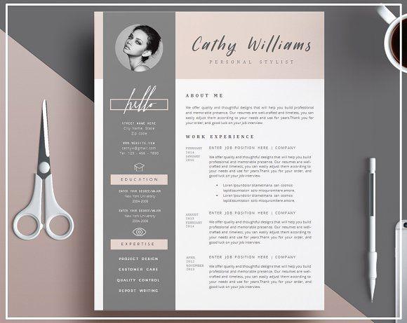 1074 best ? - Design - Resumes images on Pinterest Resume design - clean resume design