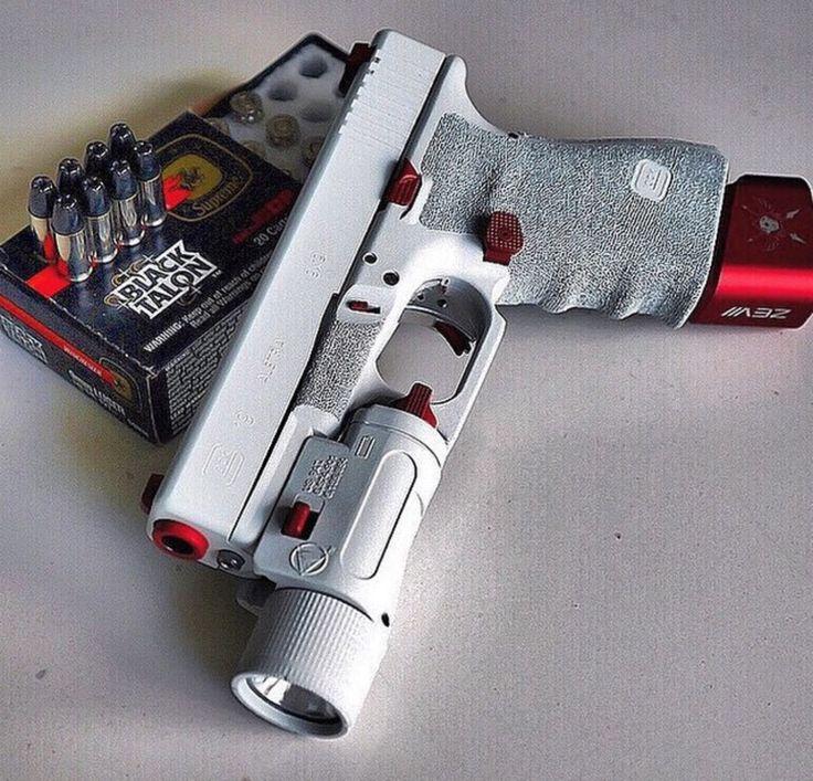 White Glock