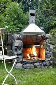 23 best images about Grill on Pinterest  Chalets, Built ...