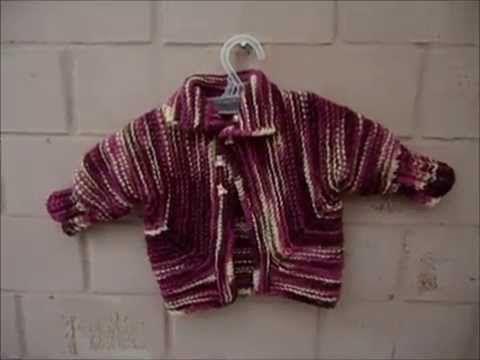 Baby Surprise Jacket// Tutorial en Español - YouTube
