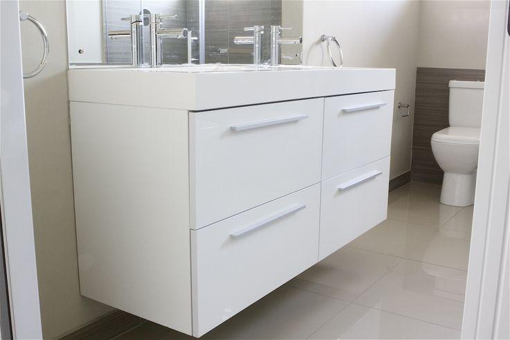 Fresh, white bathroom design #Bathroom #SCD www.supdoor.co.za