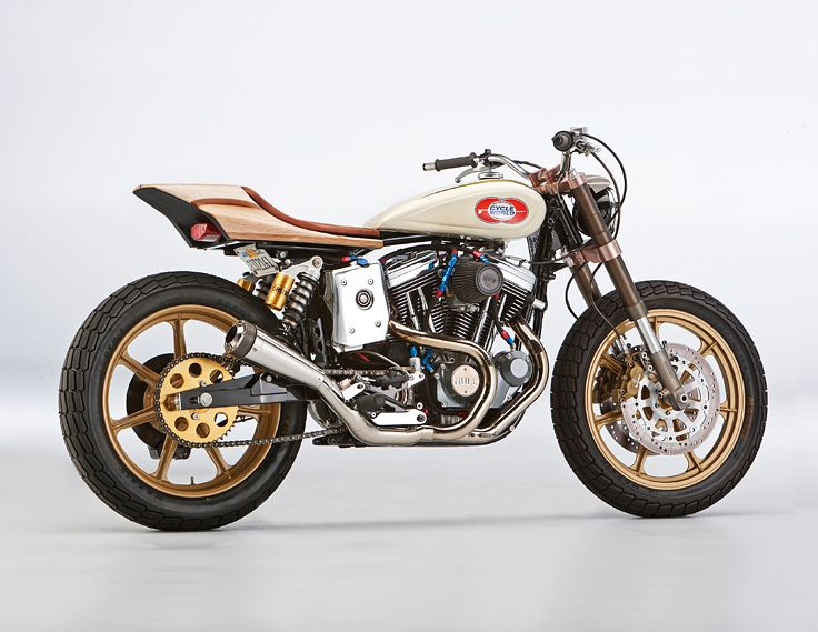 Outspoken builder Richard Pollock of Mule Motorcycles lays down a 12-step program for creating a better custom motorcycle. Here's one of his own creations, the stunning 'Web Surfer' street tracker.