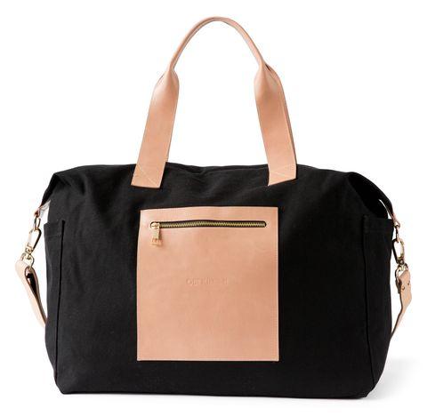 Obi Kinomi 'Essential Baby' nappy bag | Onyx Natural
