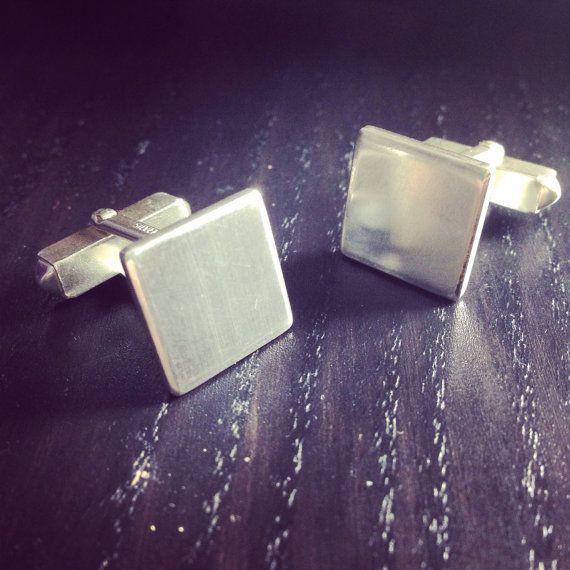 Sterling Silver Cuff Links