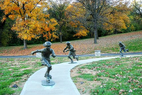 St. Joseph Parkway Statues by StJoMo, via Flickr