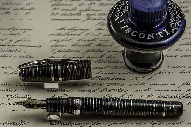 The Visconti Corsani, a Limited Edition of 790 fountain pens to celebrate the 90th anniversiary of the Rome Corsani pen store.