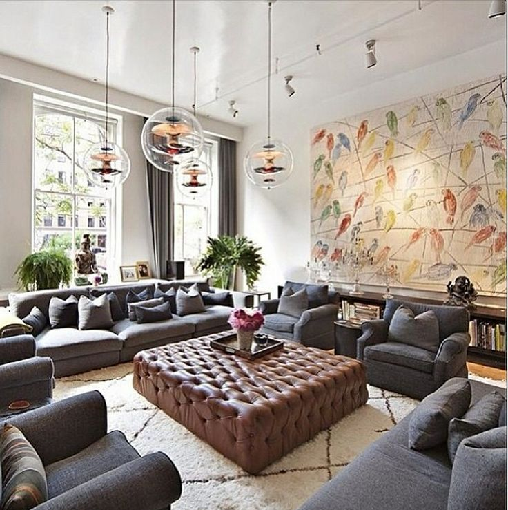 Getting It Right With A Cosy Living Room: Large Living Room Scaled Right