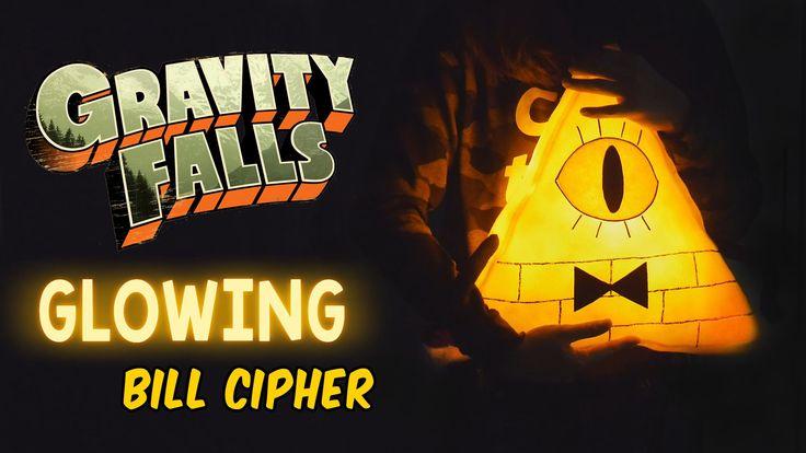 DIY Glowing Bill Cipher Plush Pillow (Free Pattern) How to Make Gravity ...