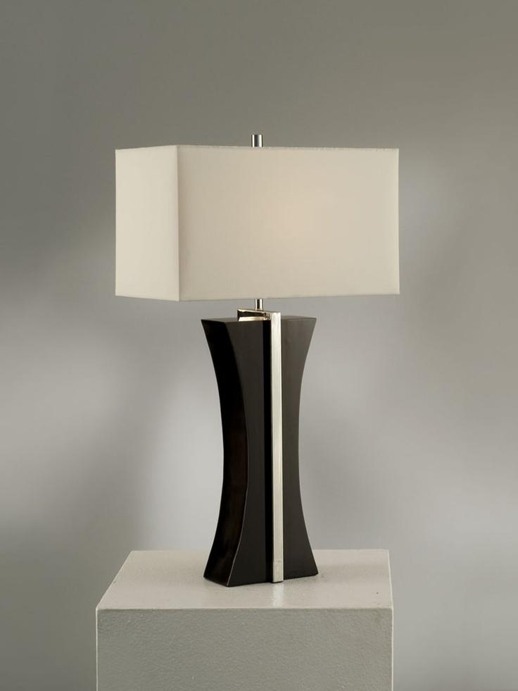 NOVA Lighting Ridgeway Table Lamp, Black