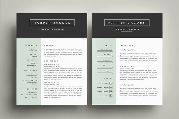 26 best Example Resumes images on Pinterest Resume templates - Cv Example
