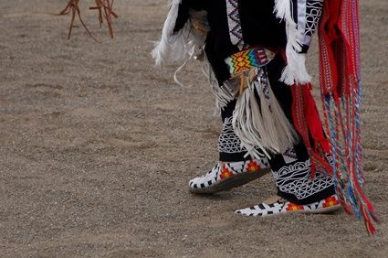 American Indian beadwork.  Now that bead work is done by machine no one wants to pay for our beautiful craft..  CTH