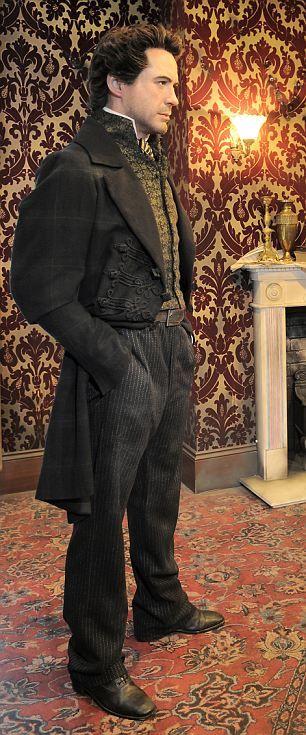 Sherlock Holmes at Madame Tussauds London, Robert Downey Jr.