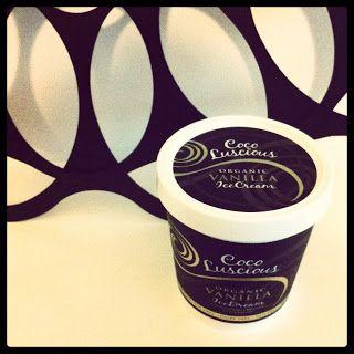 Coco Luscious organic vanilla ice cream