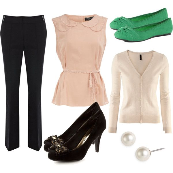 Keep business-casual attire simple and playful!