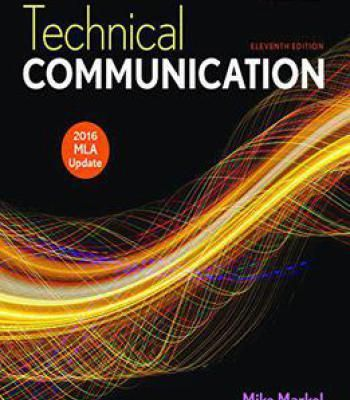 Technical Communication With 2016 Mla Update 11 Edition PDF