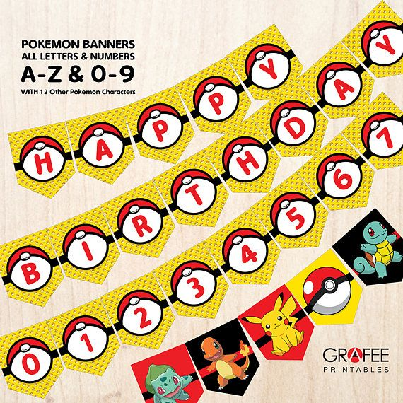 Hey, I found this really awesome Etsy listing at https://www.etsy.com/uk/listing/534784507/pokemon-banner-party-decoration-pokemon