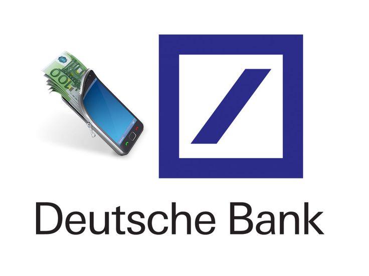 Deutsche Bank will eigenen Mobile-Payment-Dienst auf den Markt bringen - http://aaja.de/2oLDkVV
