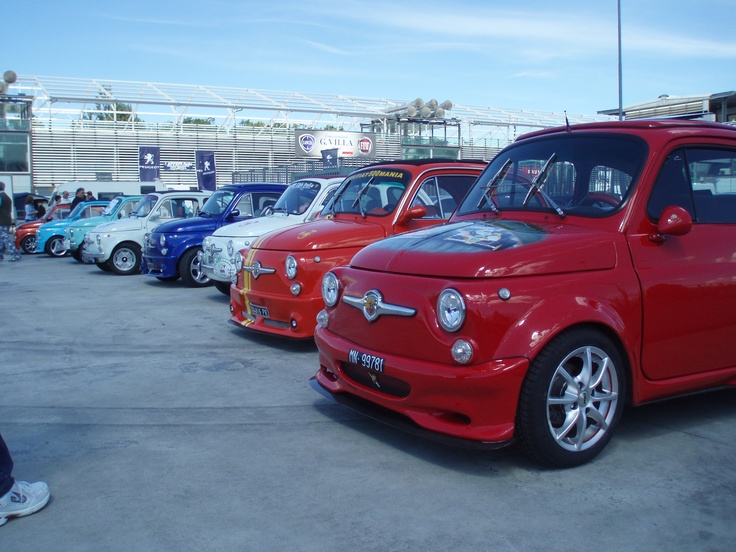 Different Fiat500