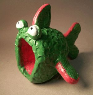 158 best clay images on pinterest for Clay pot fish