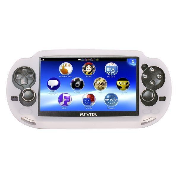 Soft Shell (Valkoinen) Sony PlayStation Vita Silikonisuojus