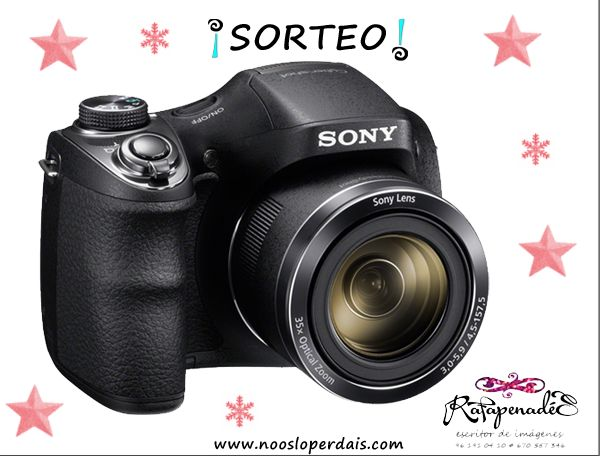 Sorteo cámara de fotos compacta de Sony de Rafa Penadés   noosloperdais