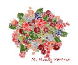 素敵な花束イラストアイデア