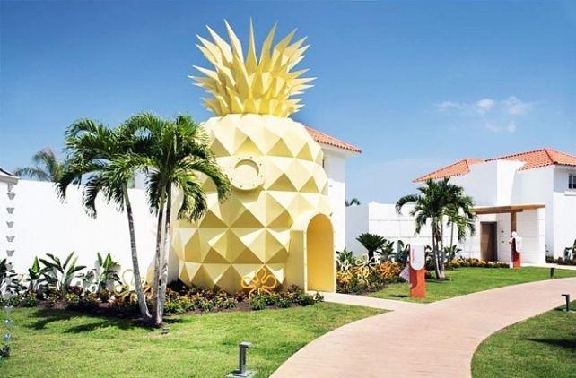 Настоящий дом Спанч Боба в Доминиканской Республике #лайфхаки #технологии #вдохновение #приложения #рецепты #видео #спорт #стиль_жизни #лайфстайл