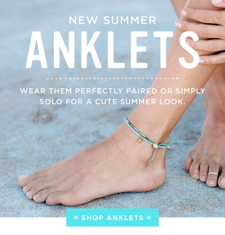 New Anklets | Pura Vida Bracelets