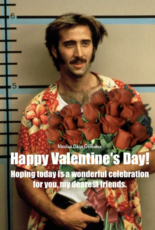Happy Valentine S Day 2018 Greetings From Us Nicolas Cage