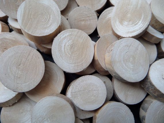 Sea Driftwood Round Cut Slices Handcrafted Wood by CodettiSupply, $8.00