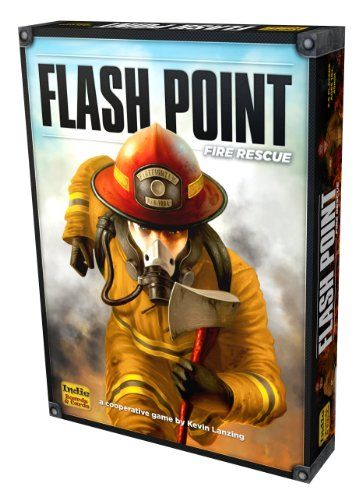 Flash Point Fire Rescue & expansions: Extreme Danger, Urban Structures, Dangerous Waters, Honor & Duty, 2nd Story (2-6 players)
