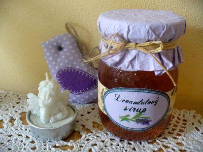 Tvoření od IVETULE: Levandulkový sirup.