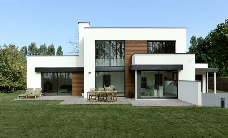 Get 20 fa ade maison moderne ideas on pinterest without for Photo de facade de maison moderne
