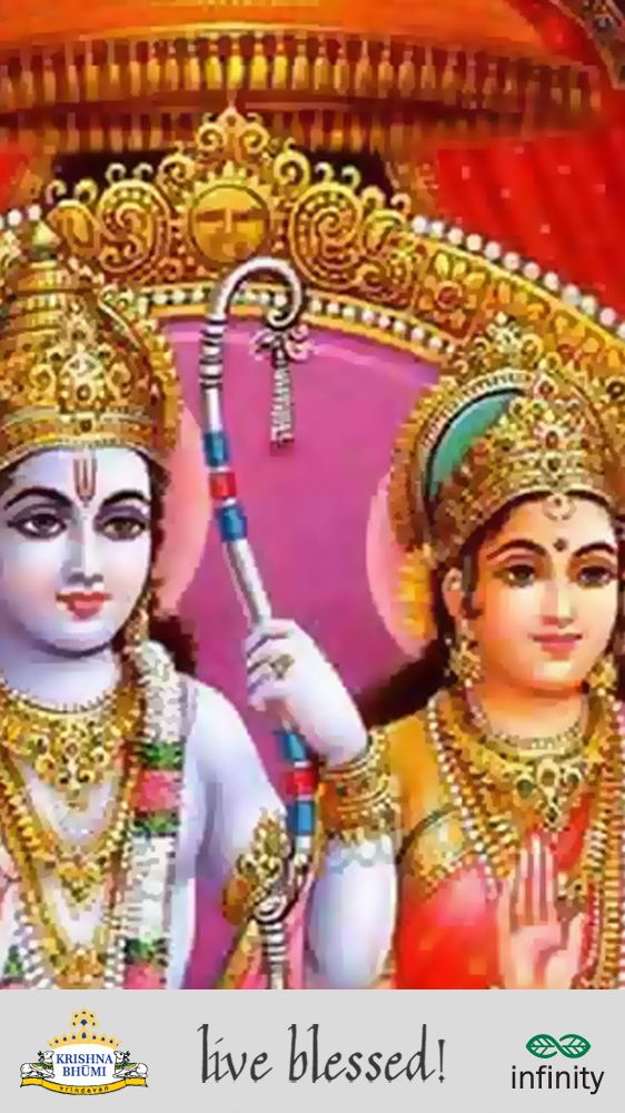 The Supreme God has appeared in all Yugas - as Prshni Grabha in Satya Yuga, as Lord Krishna in Dwapar Yuga and as Caitanya Mahaprabhu in Kali Yuga. Can you say what did He appear as in Treta Yuga? a. Rama b. Lakshman c. Bharat d. Shatrughan   #MondayQuiz