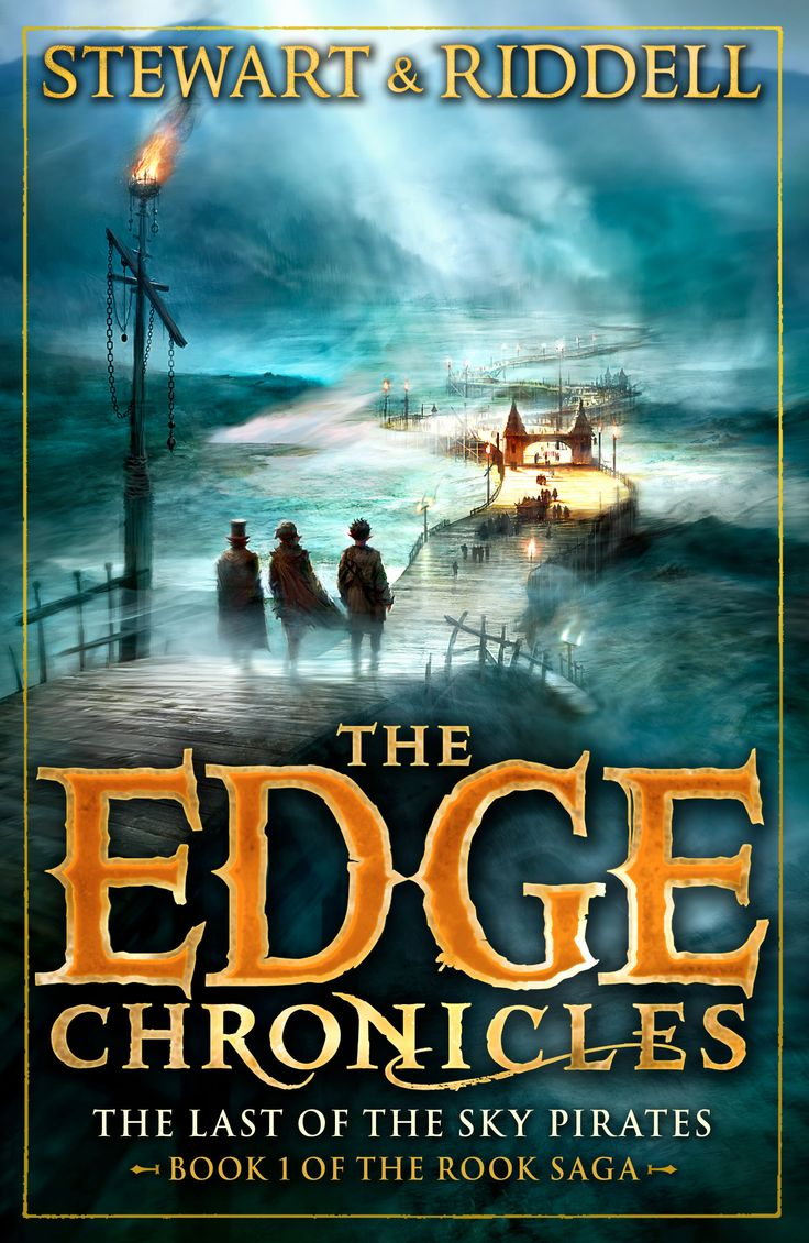 The Last Of The Sky Pirates, Book 1 Of The Rook Saga #edgechronicles #
