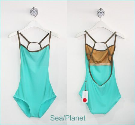 Yumiko leotard nadja in sea and planet