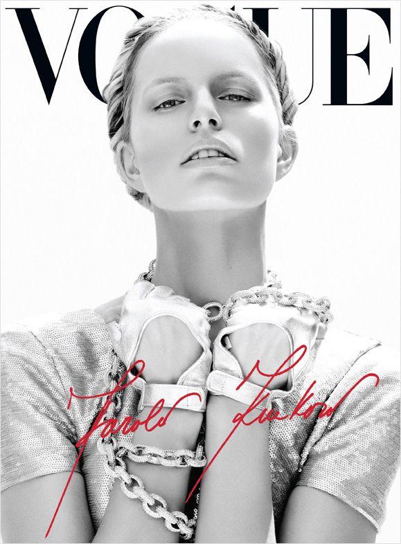 Karolina Kurkova by Nagi Sakai for Vogue Mexico June 2012