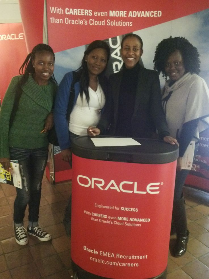 Engineered for success! Yes, we are! Meet Dudu, Graduate Recruiter at Oracle Corporation and the future talent of the University of Johannesburg. #lifeatOracle