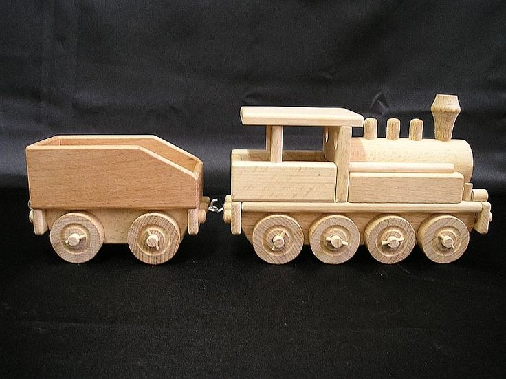 Wooden locomotives toys.  € 38,00 Handmade wooden toy trains for children. We ship orders worldwide. www.soly-toys.com