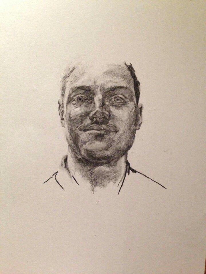 Henry charcoal portrait A2