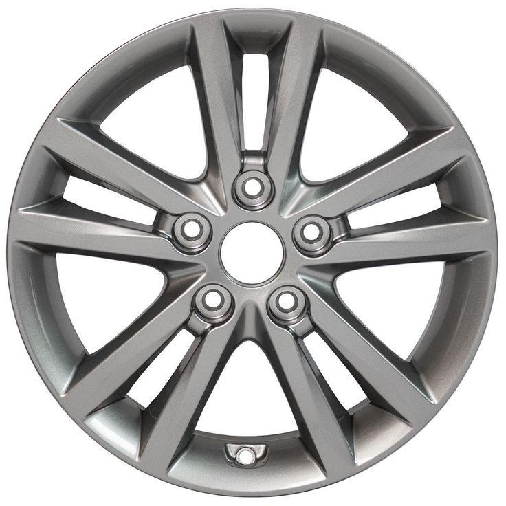X4 Silver Rims fit Hyundai Sonata 16x6.5 BRAND NEW REPLICA WHEELS #Replica