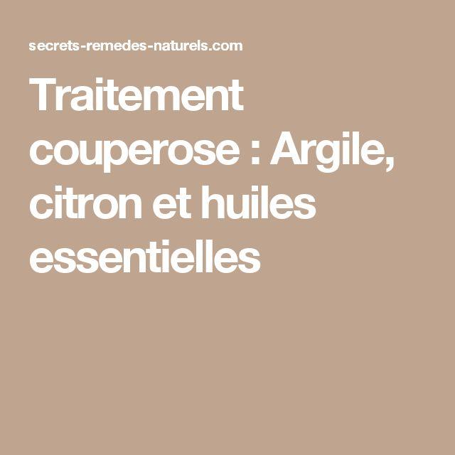 Les 25 meilleures id es de la cat gorie couperose sur pinterest couperose traitement naturel - Punaises de lit traitement huiles essentielles ...