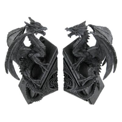 Top 25 ideas about bookends on pinterest black dragon viking ship and gothic - Gothic bookends ...