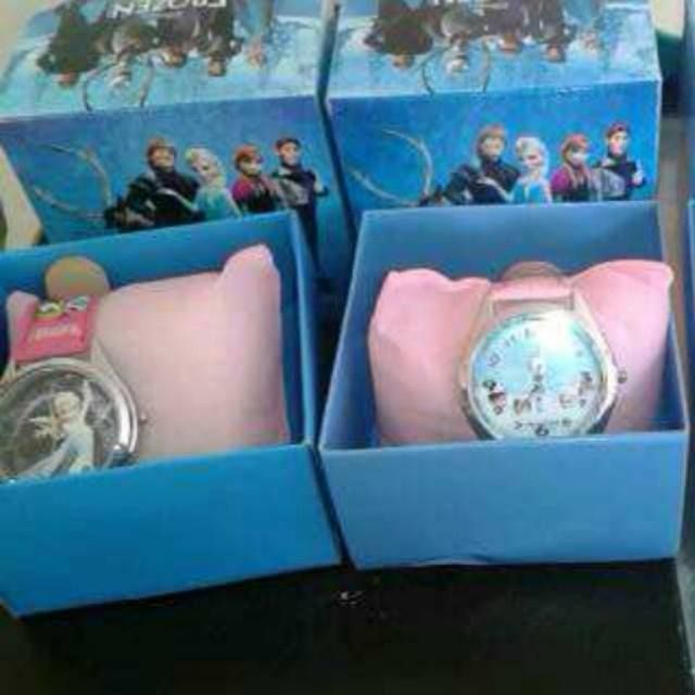 some frozen watches