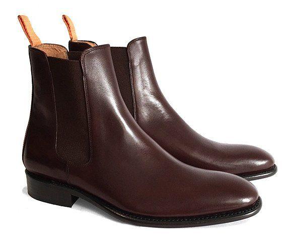 Men's Goodyear Welted Chelsea Boot Chocolate Brown – Brodawka & Friends