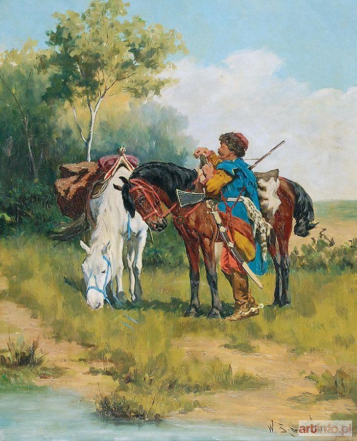 Władysław Karol (syn) SZERNER ● Na popasie ● Aukcja ● Artinfo.pl