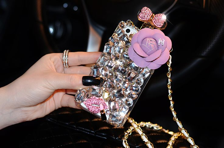 On Sale Chanel Bling iPhone 6 Cases - Beach Fashion Apple Store 205 - LeatheriPhone6Cases.com