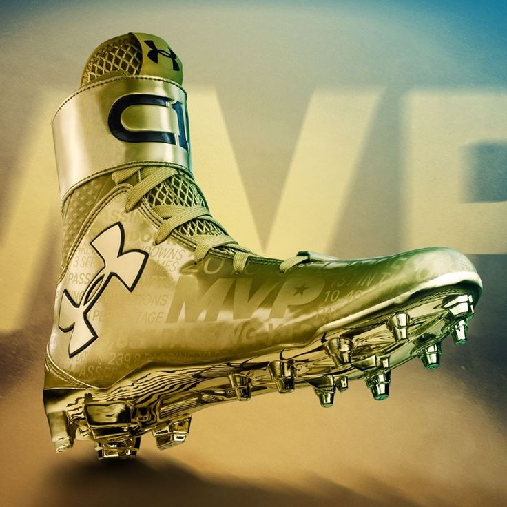 Time to shine. #CAMVP  The LTE Gold C1N MVP cleat is engineered for Cam Newton to kick the door down.  Get your signed pair NOW. Call 888-266-4630 to place your order.