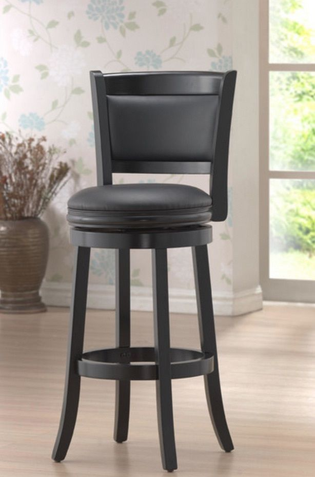 Wooden Swivel Bar Stools With Back Wood Patio Kitchen Unique Counter Height #Boraam #Modern