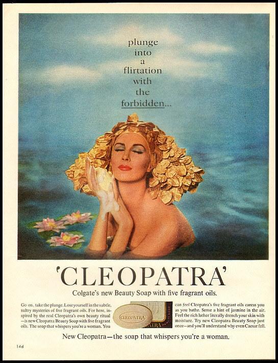 1963 vintage ad for Cleopatra Beauty Soap | eBay